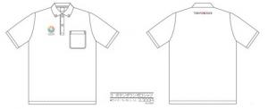 3.ボタンダウンポロシャツ ¥3,300